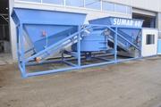 Мобильный бетонный завод 50-60 м3/ч Sumab K-60