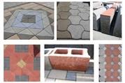 Вибропресс для производства тротуарной плитки,  бордюров в Душанбе