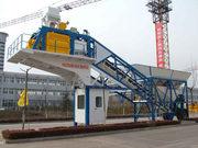 Мобильный бетонный завод YHZS «Changli» БСУ бетонный узел Душанбе