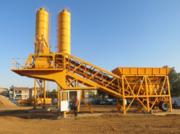 Мобильный бетонный завод «Changli» YHZS 50 (50 м3/час). БСУ Душанбе