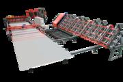 Автоматическая сварочная линия для сварки сетки из 2-х бухт TJK HW-WZD