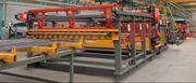 Полуавтоматическая линия для сварки сетки TJK GWCZ 2400/2800.